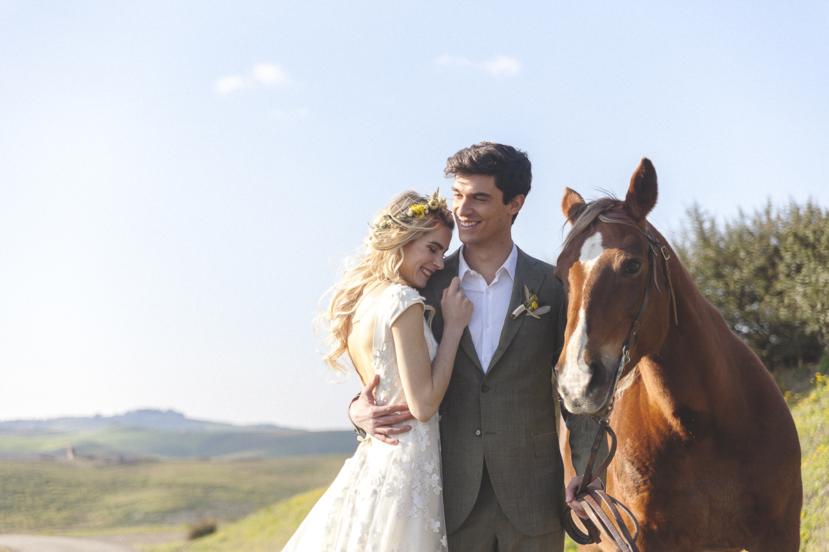 Rustic and Romatic Italian Wedding Inspiration From Tuscany – Tiziana Gallo 11