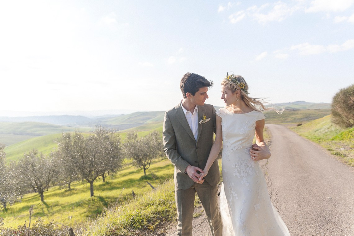 Rustic and Romatic Italian Wedding Inspiration From Tuscany – Tiziana Gallo 12