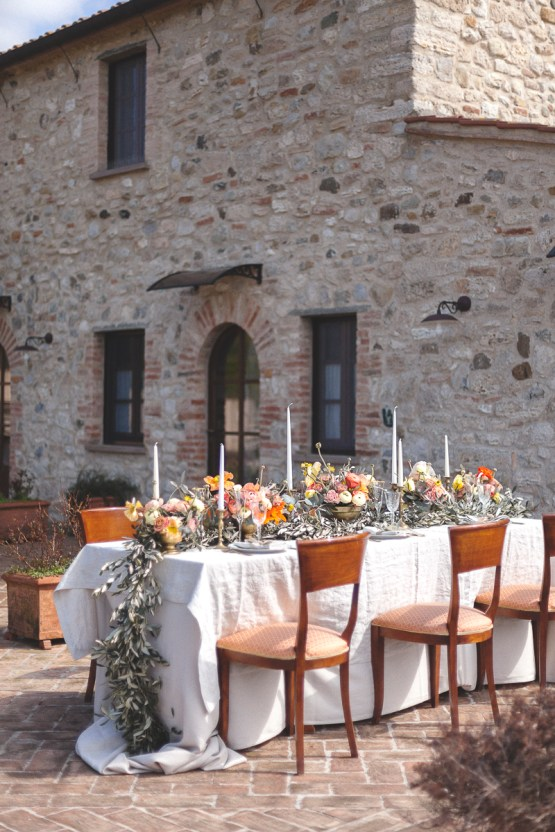 Rustic and Romatic Italian Wedding Inspiration From Tuscany – Tiziana Gallo 20