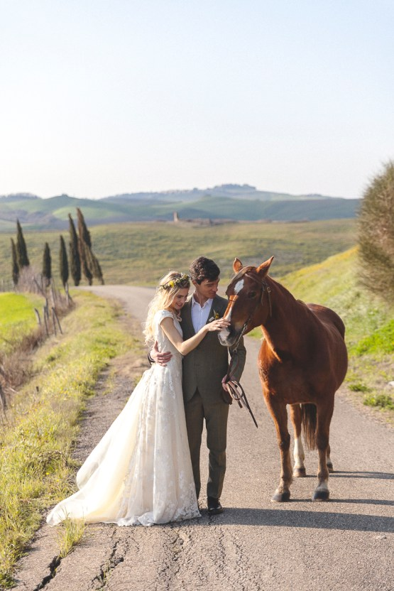 Rustic and Romatic Italian Wedding Inspiration From Tuscany – Tiziana Gallo 31