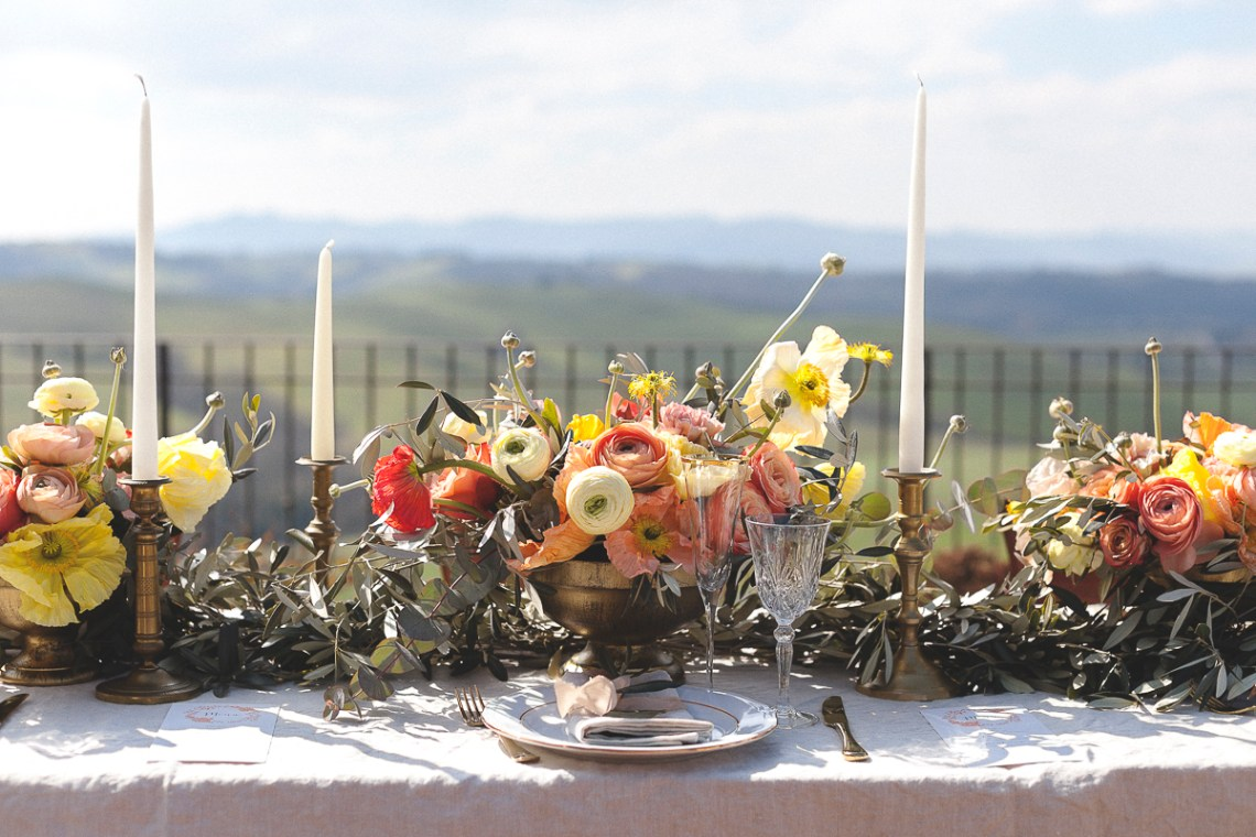 Rustic and Romatic Italian Wedding Inspiration From Tuscany – Tiziana Gallo 4