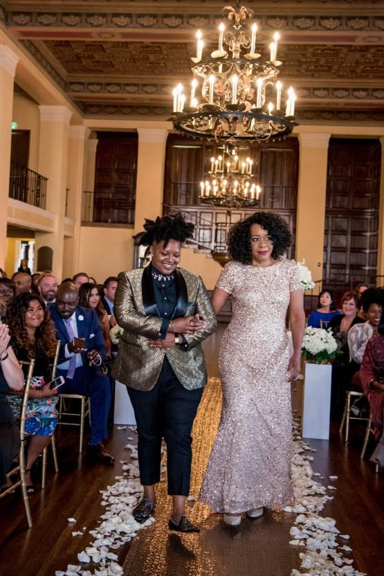 Sparkling and Ornate City Chic Wedding – Kim Fox Photography 18