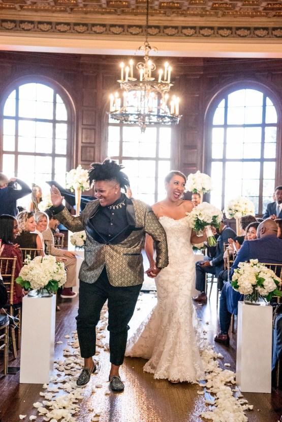 Sparkling and Ornate City Chic Wedding – Kim Fox Photography 20