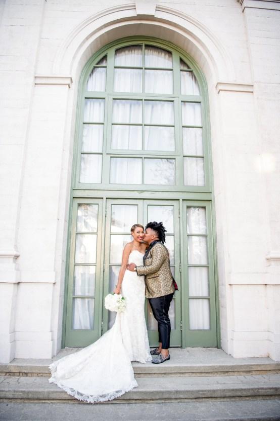 Sparkling and Ornate City Chic Wedding – Kim Fox Photography 22