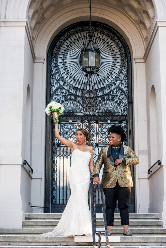 Sparkling and Ornate City Chic Wedding – Kim Fox Photography 23