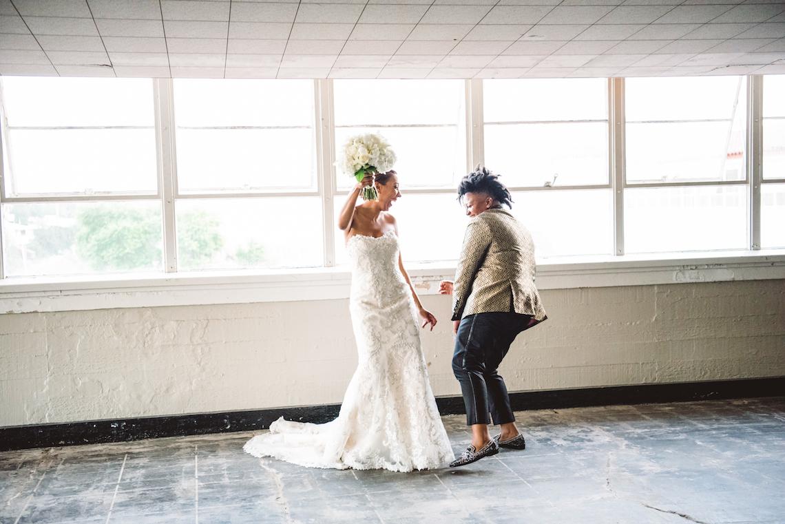 Sparkling and Ornate City Chic Wedding – Kim Fox Photography 30