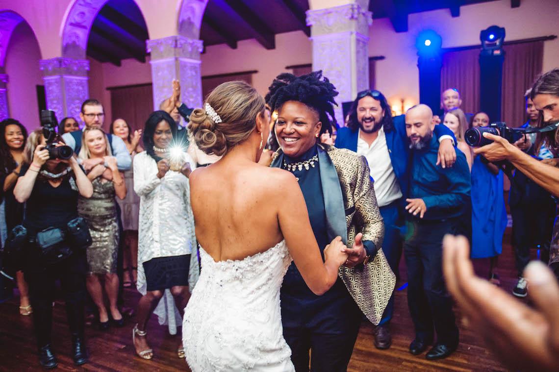 Sparkling and Ornate City Chic Wedding – Kim Fox Photography 31