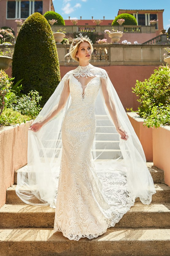 10 Stunning Wedding Dresses By Destination – Val Stefani Cadenza Dress 4