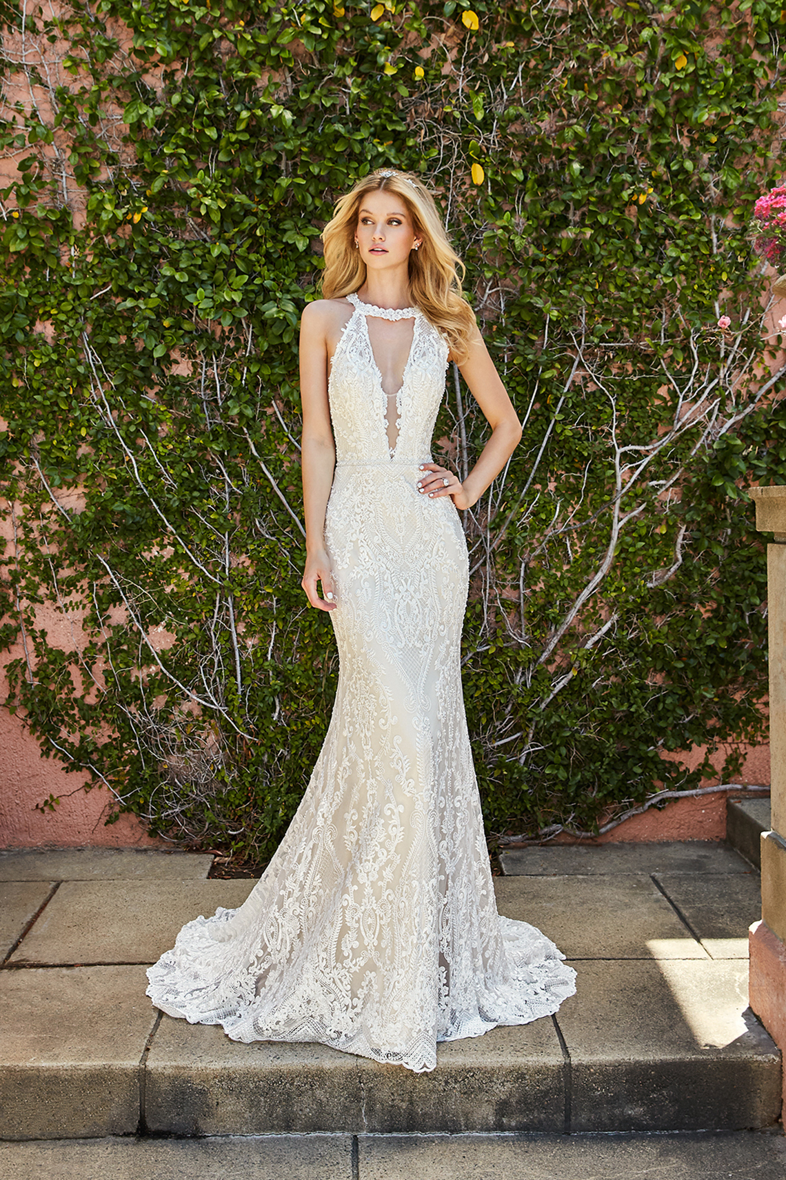 10 Stunning Wedding Dresses By Destination – Val Stefani Savona Dress 1