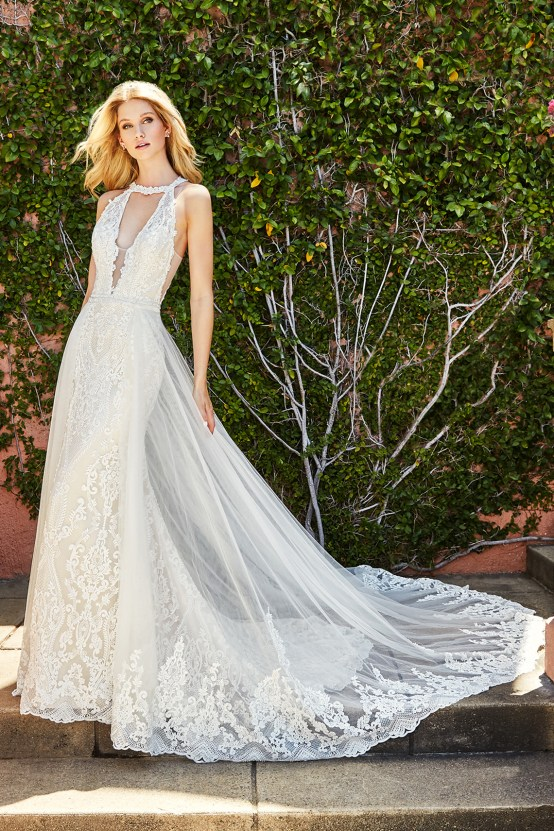 10 Stunning Wedding Dresses By Destination – Val Stefani Savona Dress 6