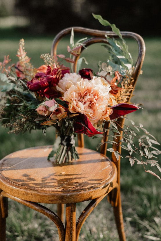 Luxe Mansion Wedding Inspiration Featuring Masculine Florals and Deep Tones – Alex Tenser – Swoon Soiree 50