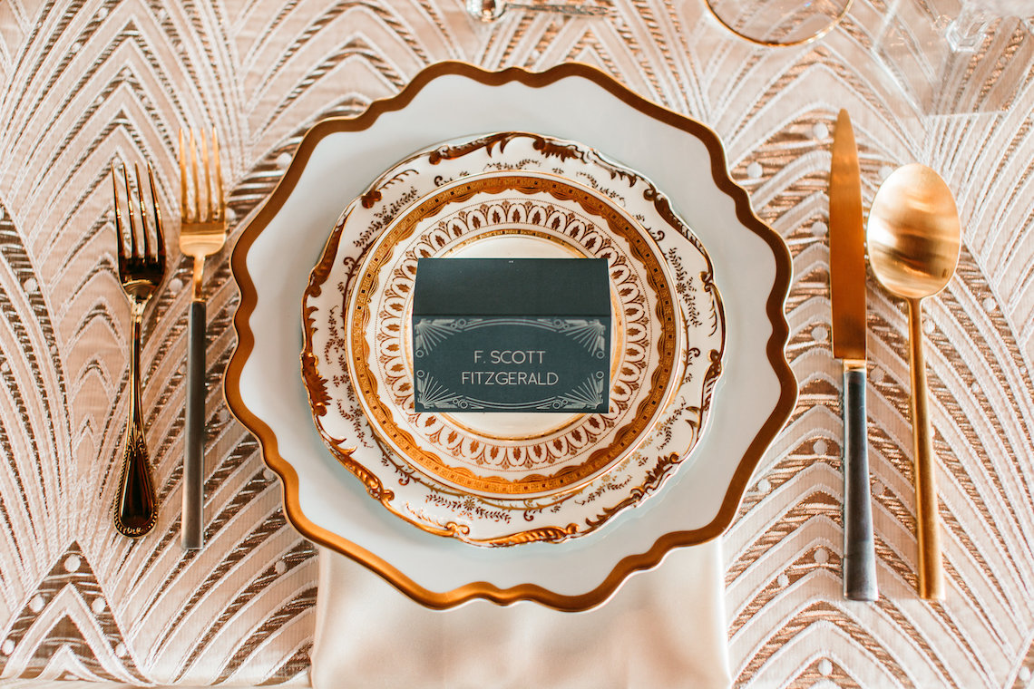 The Great Gatsby Art Deco Wedding Inspiration With Tropical Florals – Holly Castillo Photography 2