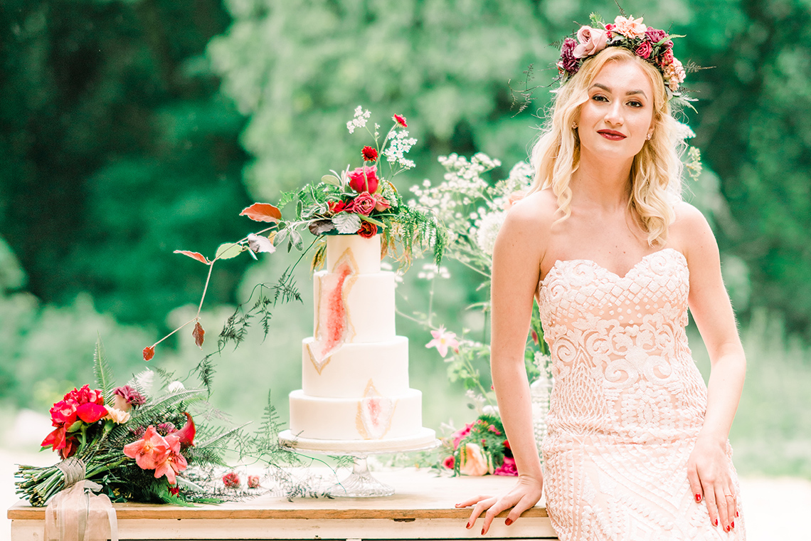 Whimsical Woodland Wedding Inspiration – Ioana Porav Photography 10
