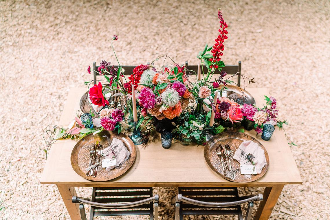 Whimsical Woodland Wedding Inspiration – Ioana Porav Photography 3