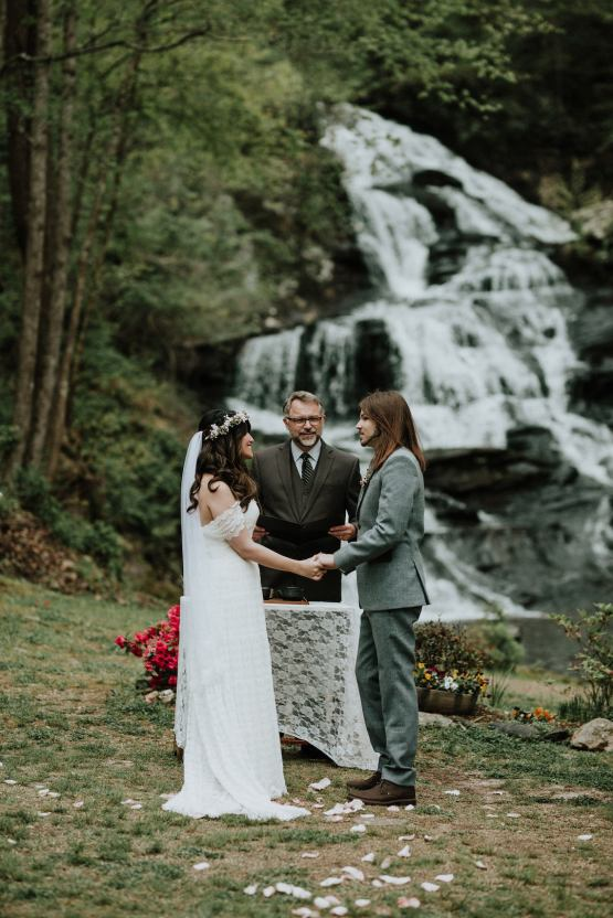 Woodland Waterfall Fairy-Tale Wedding – T and K Photography 18