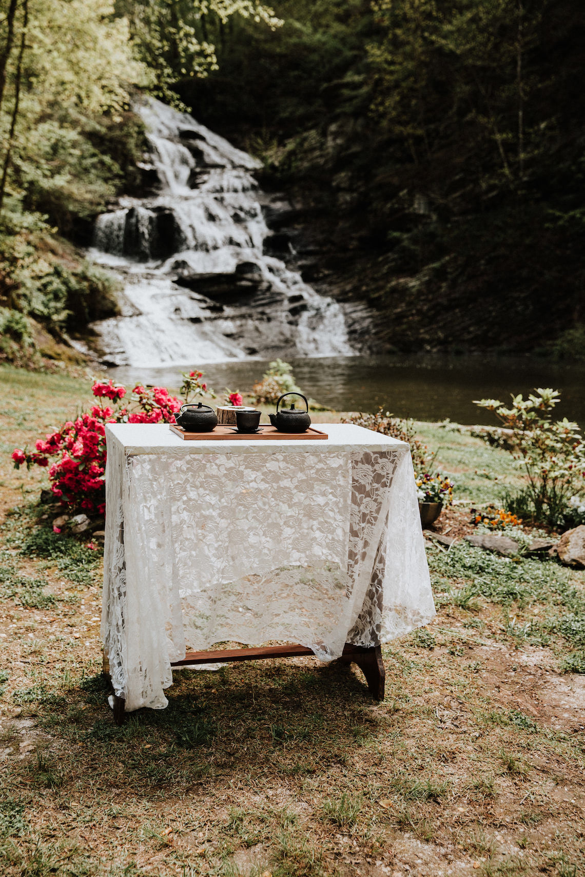 Woodland Waterfall Fairy-Tale Wedding – T and K Photography 21