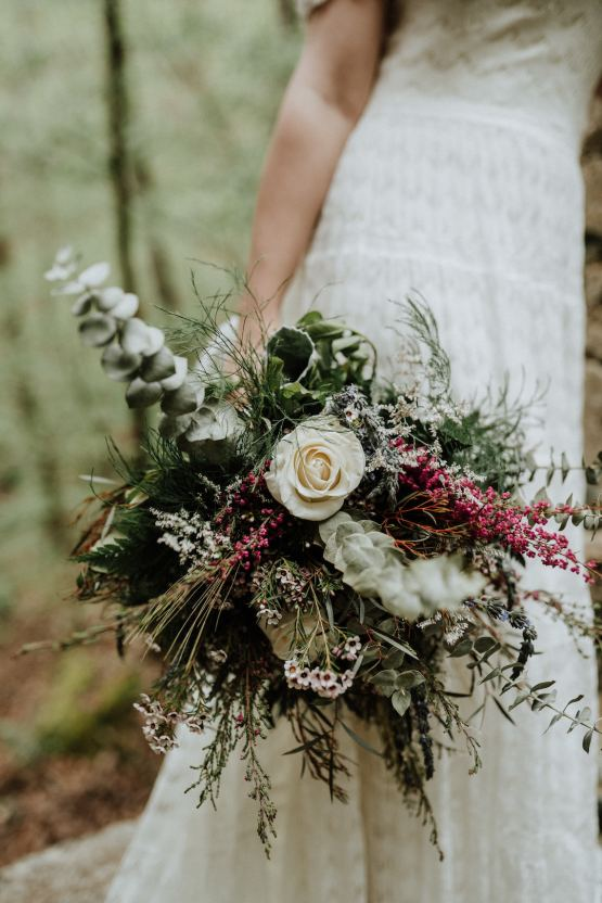 Woodland Waterfall Fairy-Tale Wedding – T and K Photography 36
