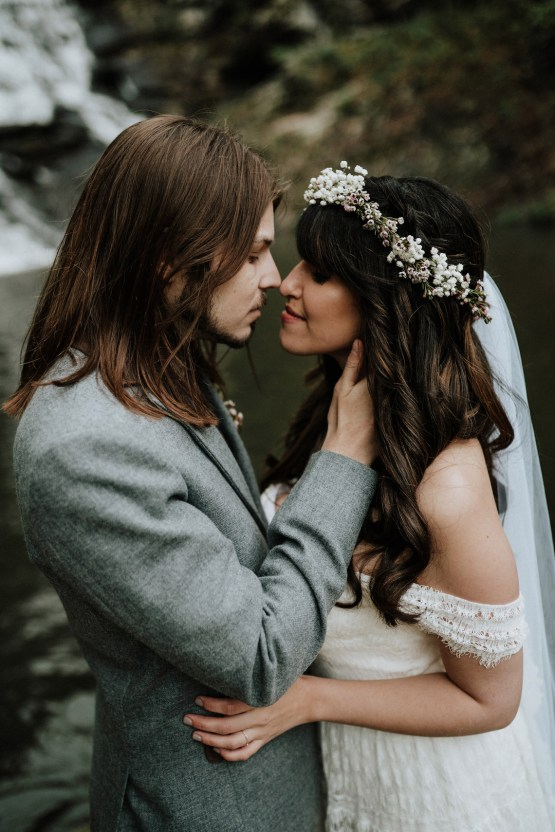 Woodland Waterfall Fairy-Tale Wedding – T and K Photography 45