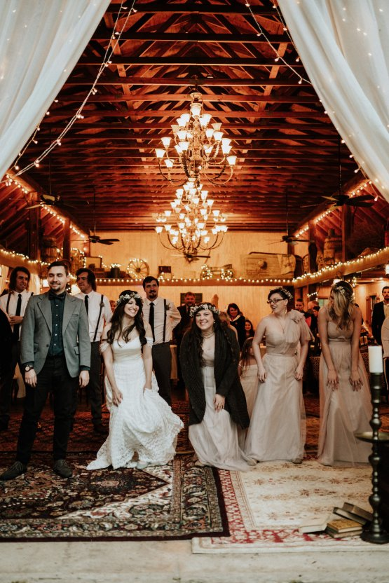 Woodland Waterfall Fairy-Tale Wedding – T and K Photography 48