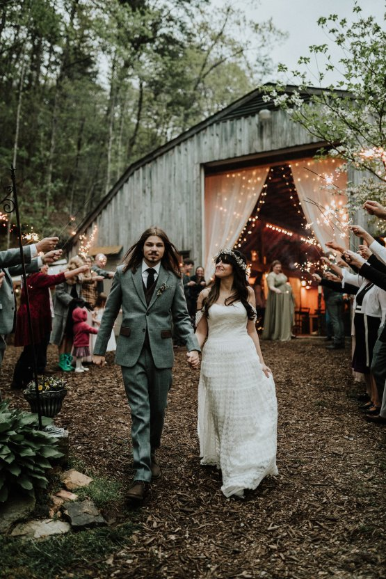 Woodland Waterfall Fairy-Tale Wedding – T and K Photography 51