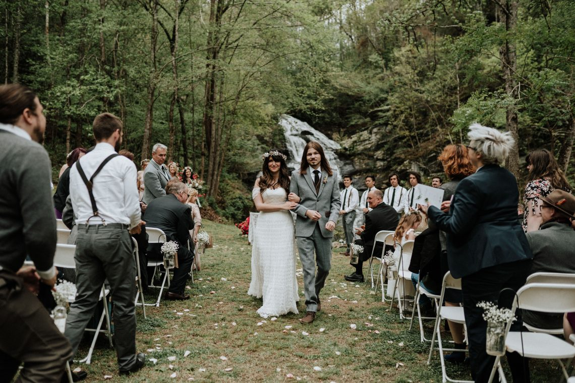 Woodland Waterfall Fairy-Tale Wedding – T and K Photography 8