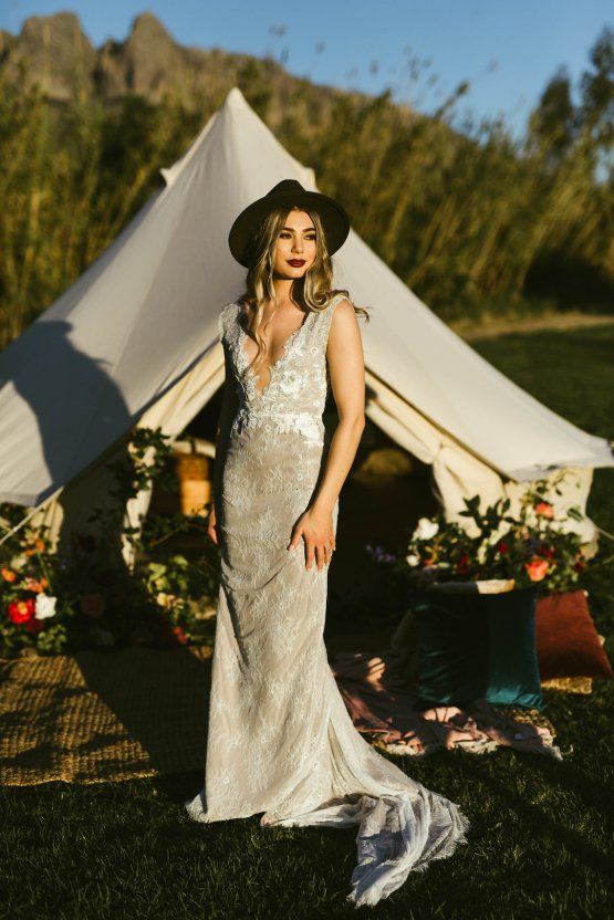 Bohemian Glamping Wedding and Proposal Inspiration – Lindie Wilton Photography 15