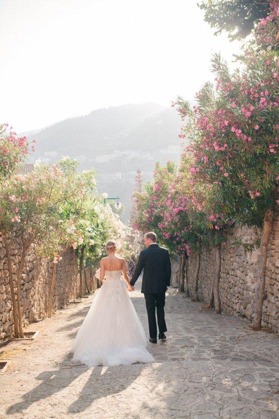 Breathtaking Cliffside Amalfi Coast Destination Wedding – Sandra Aberg 49
