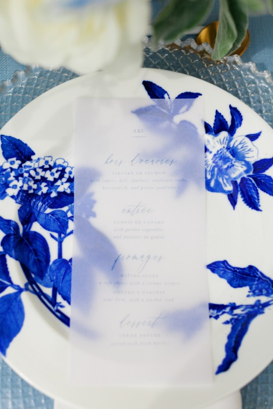 French Blue Vineyard Chateau