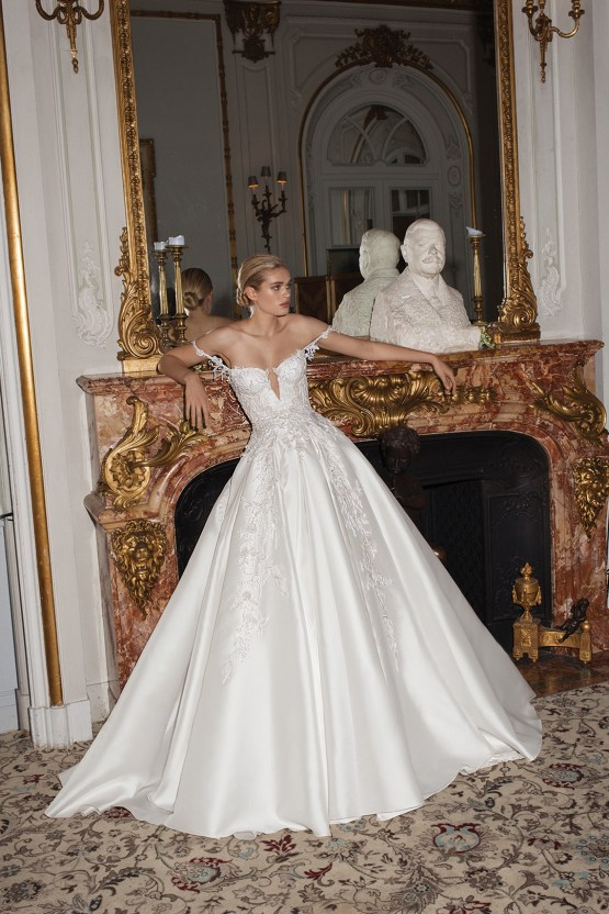 How To Look Like Royalty On Your Wedding Day – Galia Lahav Couture Dress Collection – AIDA F
