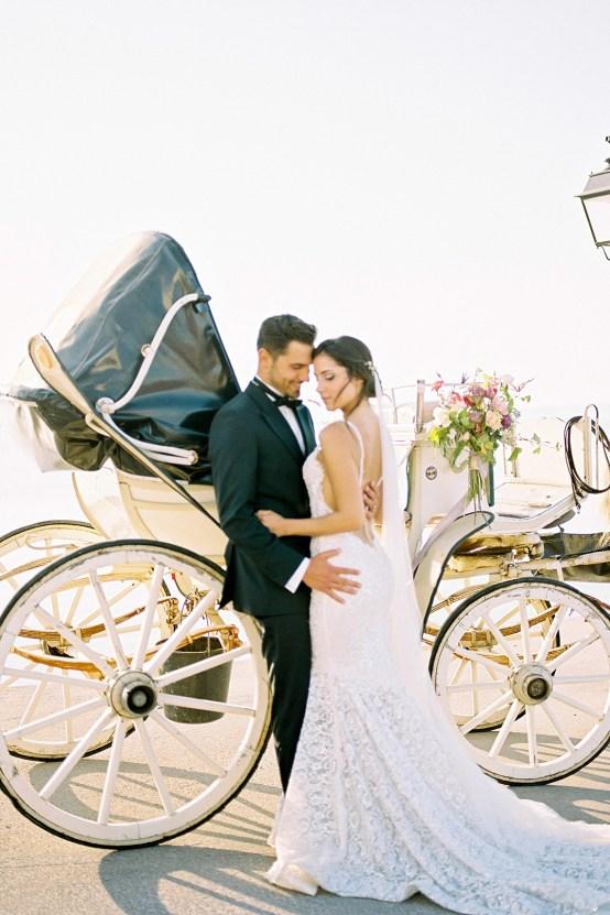 Lavish and Ethereal Greek Hotel Wedding Inspiration – Camilla Cosme Photography 15