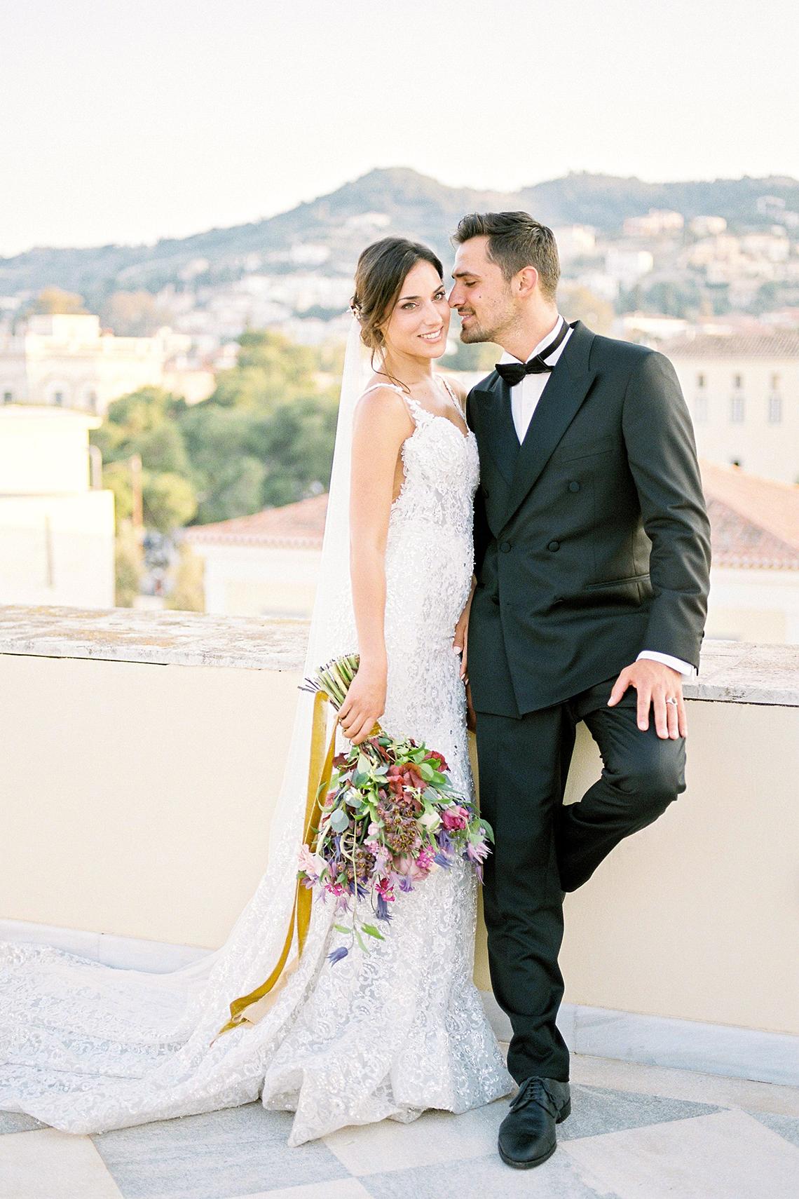 Lavish and Ethereal Greek Hotel Wedding Inspiration – Camilla Cosme Photography 19