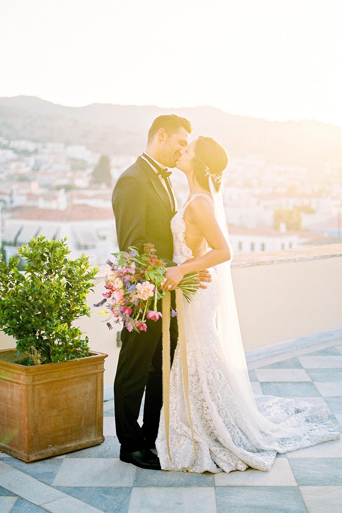 Lavish and Ethereal Greek Hotel Wedding Inspiration – Camilla Cosme Photography 22