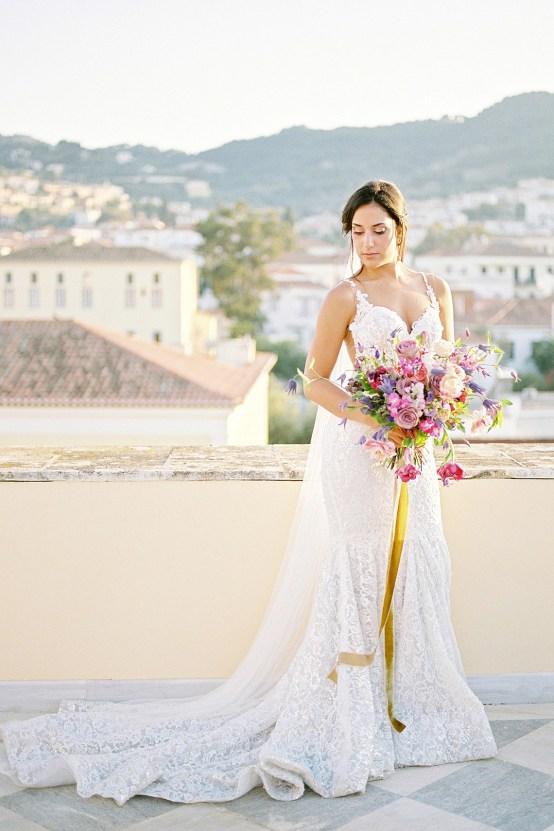 Lavish and Ethereal Greek Hotel Wedding Inspiration – Camilla Cosme Photography 25
