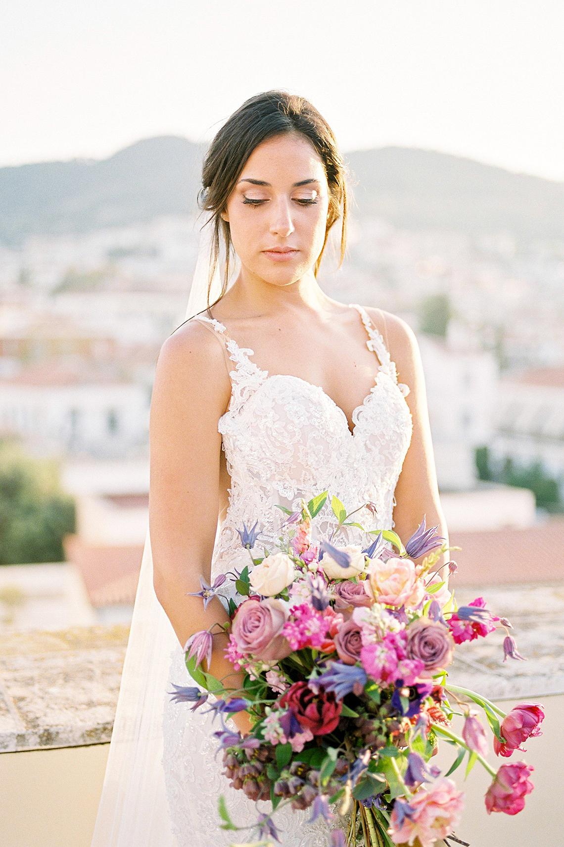 Lavish and Ethereal Greek Hotel Wedding Inspiration – Camilla Cosme Photography 27