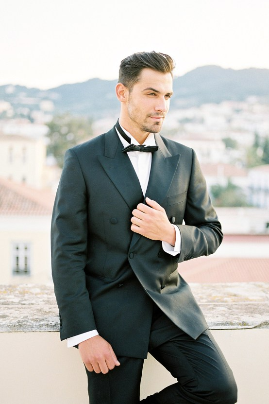 Lavish and Ethereal Greek Hotel Wedding Inspiration – Camilla Cosme Photography 28