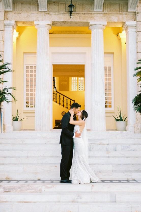 Lavish and Ethereal Greek Hotel Wedding Inspiration – Camilla Cosme Photography 31