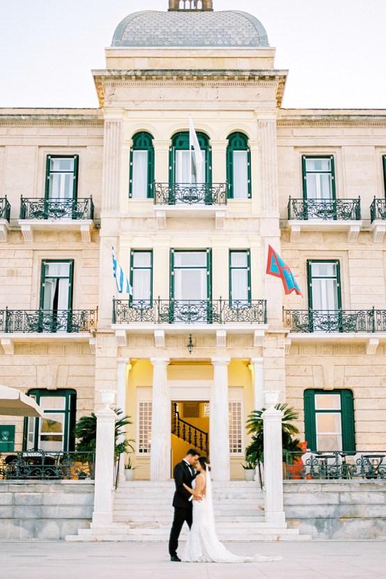 Lavish and Ethereal Greek Hotel Wedding Inspiration – Camilla Cosme Photography 32
