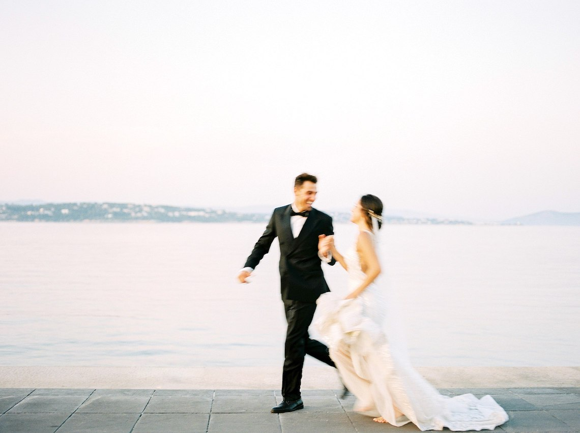 Lavish and Ethereal Greek Hotel Wedding Inspiration – Camilla Cosme Photography 35