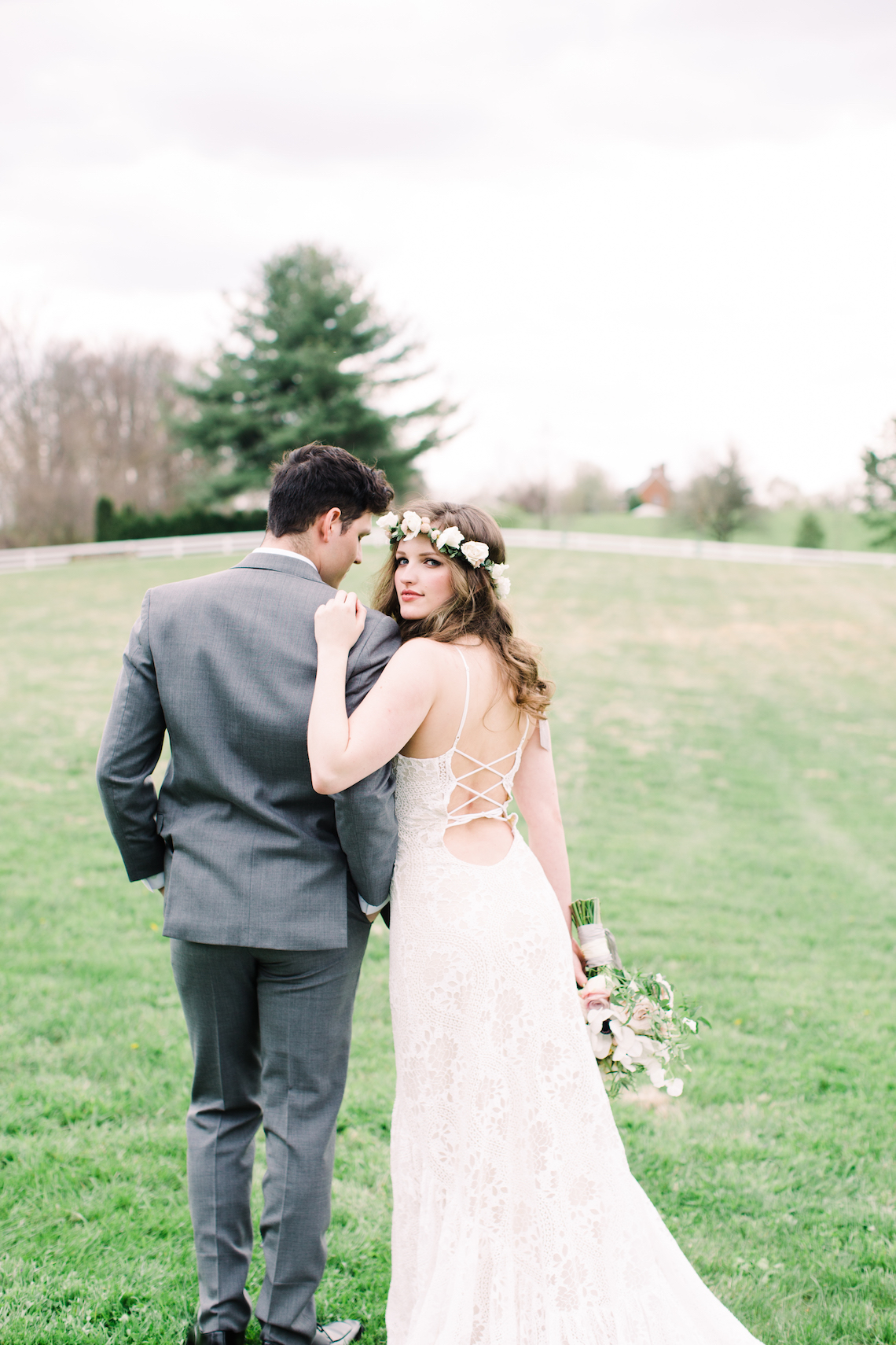 Quaint Country Chic Boho Wedding Inspiration – Sons and Daughters Photography 15