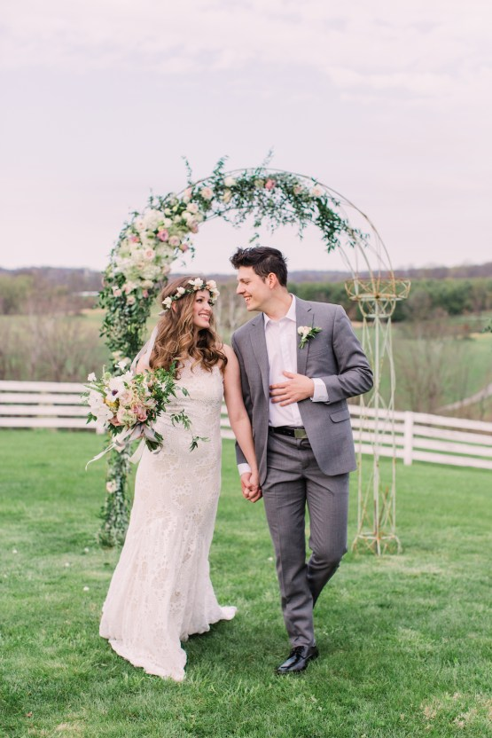 Quaint Country Chic Boho Wedding Inspiration – Sons and Daughters Photography 27
