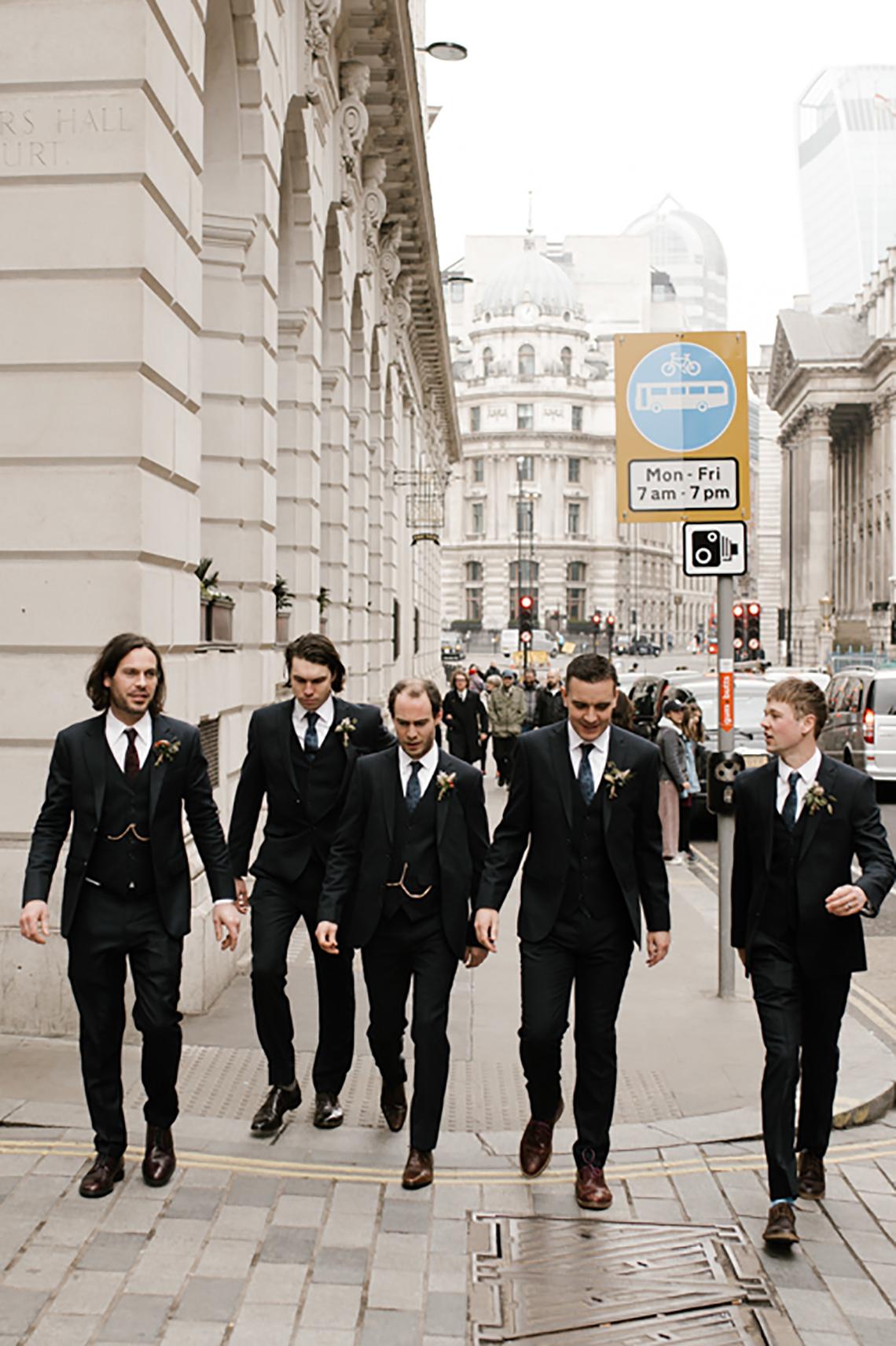 Swanky London Bank Wedding – Jessica Williams 17