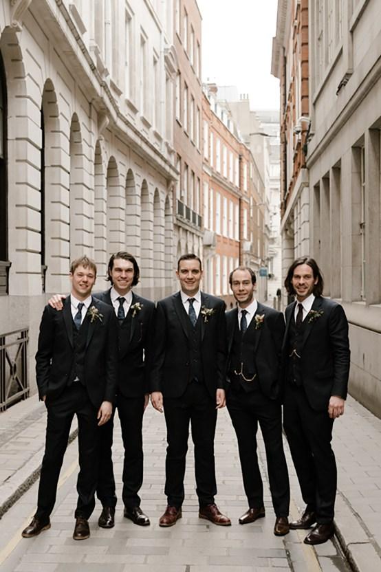 Swanky London Bank Wedding – Jessica Williams 19