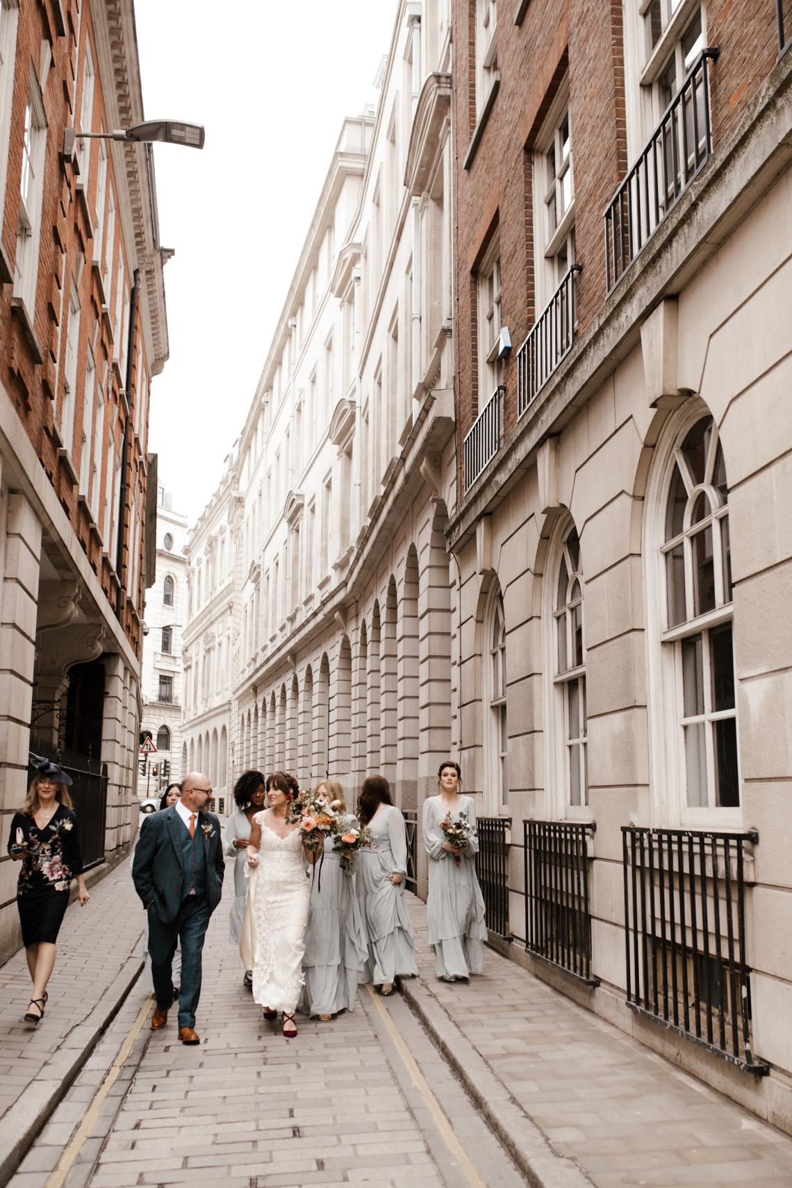 Swanky London Bank Wedding – Jessica Williams 23