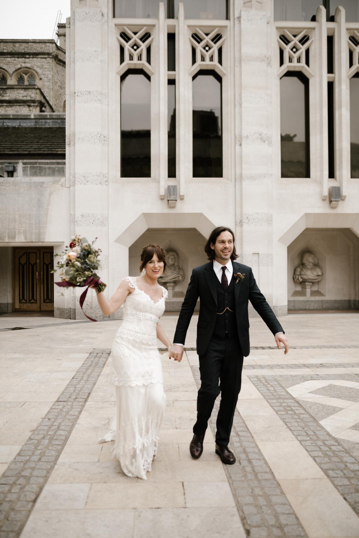 Swanky London Bank Wedding – Jessica Williams 30