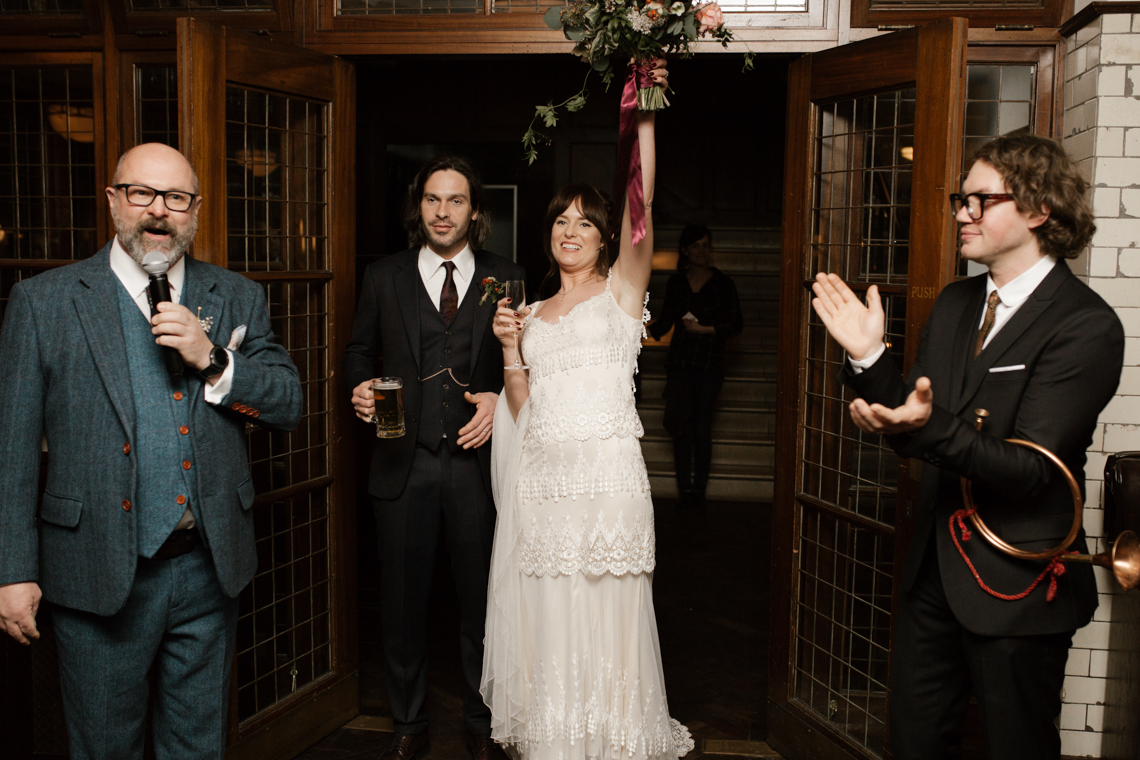 Swanky London Bank Wedding – Jessica Williams 38