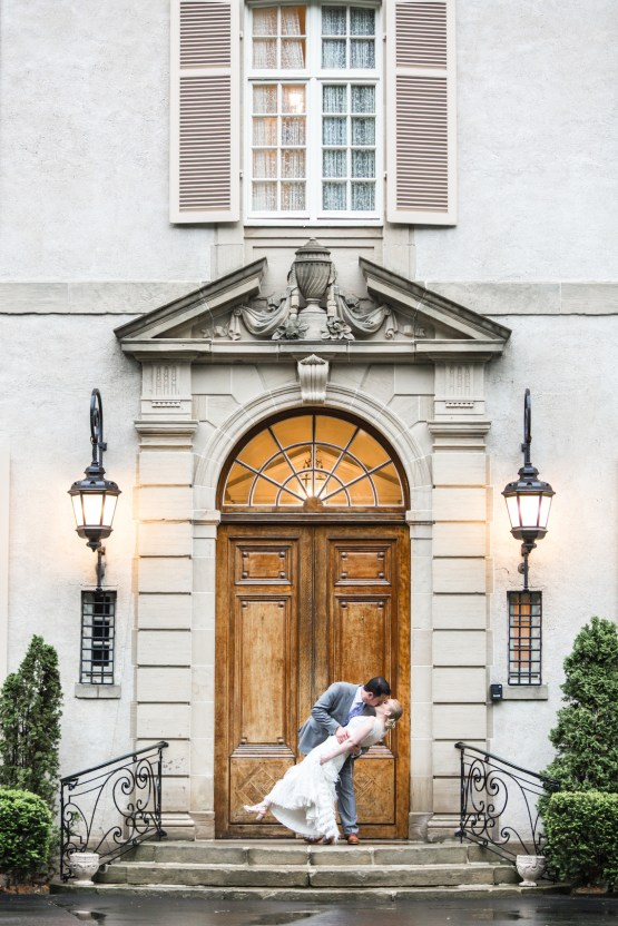 Upscale Art Deco Rhode Island Wedding With A Feathered Dress – Lynne Reznick Photography 17