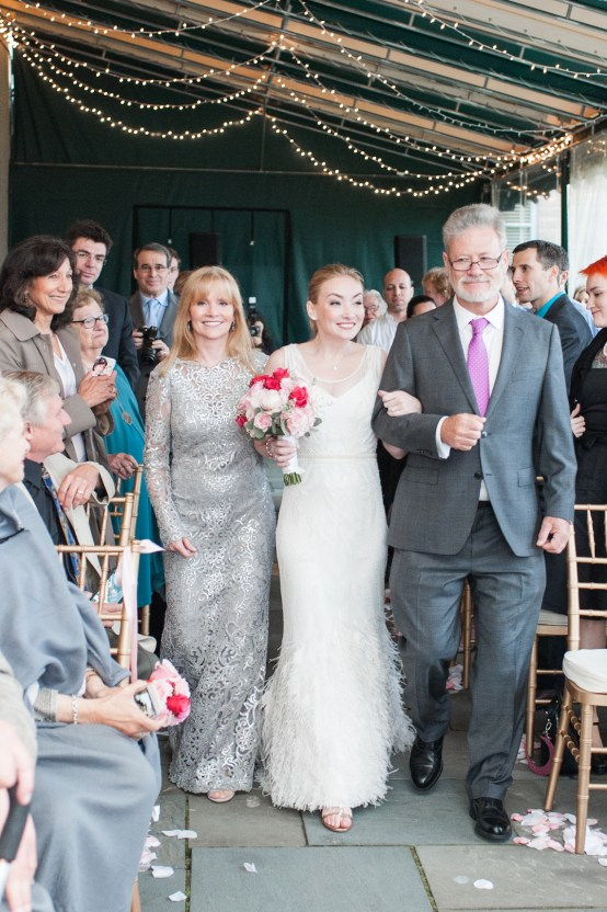 Upscale Art Deco Rhode Island Wedding With A Feathered Dress – Lynne Reznick Photography 26