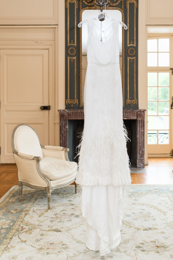 Upscale Art Deco Rhode Island Wedding With A Feathered Dress – Lynne Reznick Photography 37