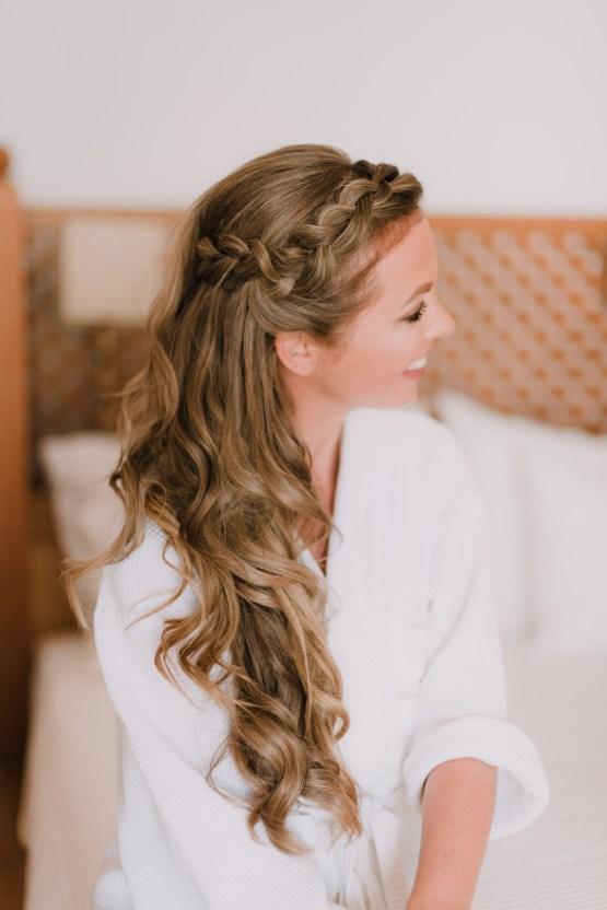 Boho Greek Island Wedding Featuring A Circle Floral Arch – Paulina Weddings 4