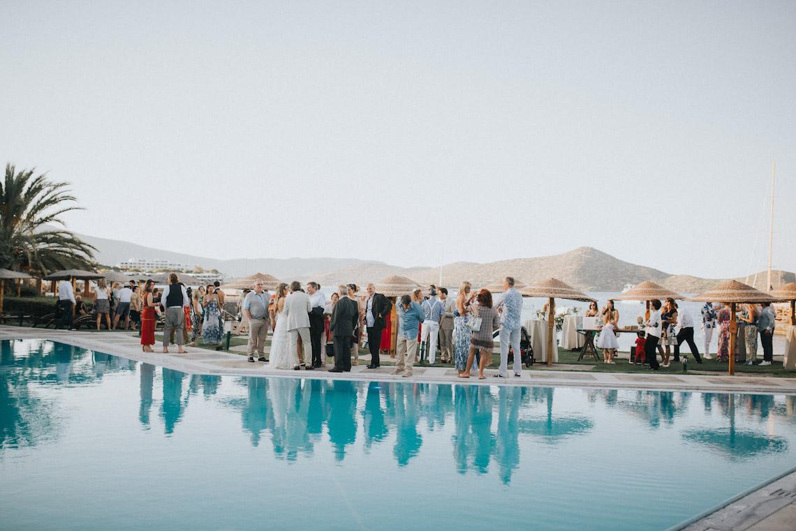 Boho Greek Island Wedding Featuring A Circle Floral Arch – Paulina Weddings 41
